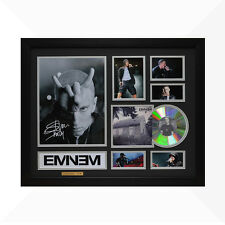 Eminem Signed & Framed Memorabilia - 1CD - Black/Silver Edition -  NEW
