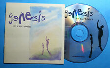 GENESIS  CD WECAN'T DANCE 1991 MADE IN WEST GERMANY ( NO BACK COVER)