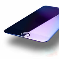 Full Coverage Blue Ray 3D Tempered Glass Screen Protector For iphone 6 7 8+ X
