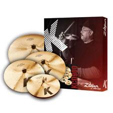"Zildjian K Custom Dark KCD900 Cymbal Pack Set 14"" Hi Hat 16""&18"" Crash 20"" Ride"