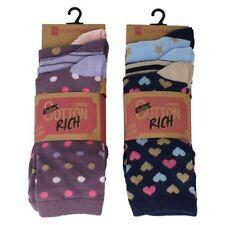 Chaussettes coton taille unique pour femme
