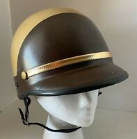 Chips Style Trooper Helmet Size M Brown Tan Motorcycle by Bell TOPTEX Vintage