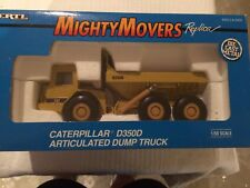 Ertl Mighty Movers Caterpillar D350D Articulated Dump Truck 1:50