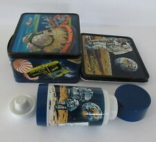 1969 Vintage The Astronauts Lunchbox Thermos Nr Mint Unused C9 with Tag Wow !!!!