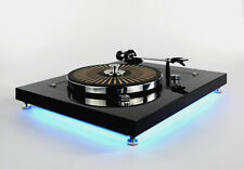 Restaurierter Thorens TD 160 Plattenspieler Turntable mit LED Beleuchtung