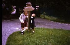 35mm Colour Slide- At a trout Farm in Germany  - Europe,  1963