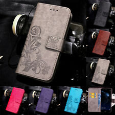 For Huawei P8 P9 P10 Lite 2017 Magnetic PU Leather Wallet Flip Case Cover