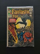 Fantastic Four #52 (1966, Marvel Comics) First App. Black Panther Silver Age Key