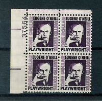 US Stamps - Scott # 1294 $1 Eugene O'Neill Plate Block - Mint NH (S74)