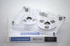 Pioneer Audio Tape weiß Handmade Reel to Reel Cassette Kassetten Bänder