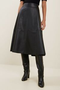 BrandNew * - * Seed Heritage * Leather Flare Skirt* - *Free Shipping