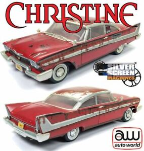 1:18 Christine (Dirty/Rusted Version) -- 1958 Plymouth Fury -- Auto World