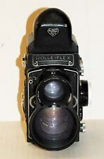 Rolleiflex II F&H 3.5F Type 5 Planar 75/3.5 lens - SERIAL # 2852767 GERMANY 1971