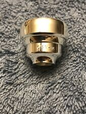 CSV-M Trumpet Mouthpiece Top Warburton Threads. Demo With One Tiny Exterior Ding