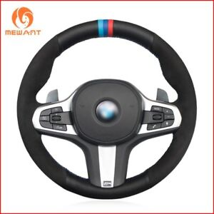 Leather Steering Wheel Cover for BMW G30 G31 G32 G20 G21 G15 G16 X3 X4 X5 G403