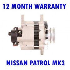 NISSAN PATROL MK3 MK III / 2 HARDTOP 3.2 1988 1989 1990 RMFD ALTERNATOR