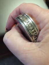 Tiffany and Co Authentic Sterling Silver Compass Rare Roman Numerals