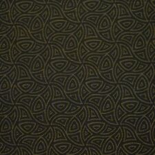 Intersect Henna Brown Black Geometric Crypton Incase Upholstery Fabric 1314460