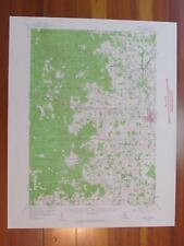 Reed City Michigan 1960 Original Vintage USGS Topo Map