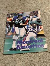 1978 Montreal Alouettes v Toronto Argonauts CFL Football Program Glen Weir