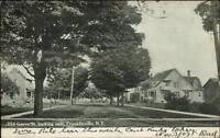 Franklinville NY Grove St. East c1905 Postcard