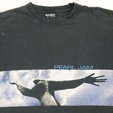 VTG 90s Distressed PEARL JAM Yield Tour T-Shirt Mens XL Faded Black Grunge Tee