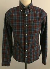Abercrombie & Fitch Men's Plaid Long Sleeve Button Down Shirt Size: M
