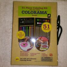 Colorama 51 Piece Coloring Kit