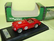 FERRARI 212 EXPORT N°27 1èr TOURIST TROPHY 1951 TOP MODEL TMC117 1:43