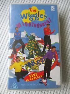 THE WIGGLES WIGGLEDANCE VHS ABC VIDEO 1998 VILLAGE ROADSHOW 100766