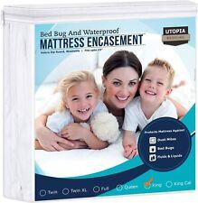 Utopia Bedding Zippered Bed Bug Proof Waterproof Mattress Encasement, King