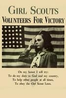 WPA War Propaganda Girl Scouts Volunteers for Victory inch Poster 24x36 inch