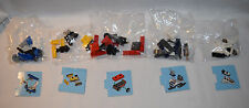 Lego 60099 Advent City 2015 LOT of 5 Sealed Airplane Bulldozer Wagon Snowmobile
