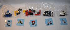 Lego 60099 Advent City 2015 LOT of 5 Sealed Airplane Bulldozer Wagon Snowmobile