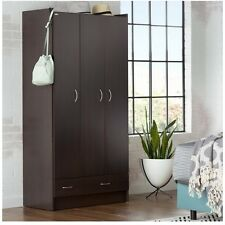 Black Armoires And Wardrobes Clothing Organizer Dresser Storage Master Bedroom