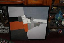 Interesting Vadon Abstract Art Poster Print-Framed Vadon Art-LQQK