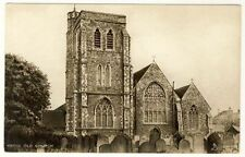 HERNE OLD CHURCH Raphael Tuck Photogravure #2099 c1910