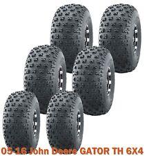6 Utility Atv tires (2) 22.5x10-8 & (4) 25x12-9 fr 05-16 John Deere Gator Th 6X4