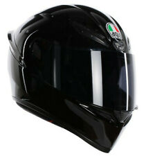 CASCO HELMET INTEGRALE K-1 E2205 SOLID BLACK AGV SIZE MS