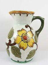 Vintage Gouda Dutch Art Pottery Jug ~ Very Pretty