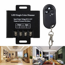 DC12V-24V 30A Single Color LED Dimmer Switch Controller SMD 3528 5050 5730 Strip
