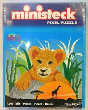ministeck - Afrika: Löwenbaby, ca 1300 Teile, Neu, OVP, 31304