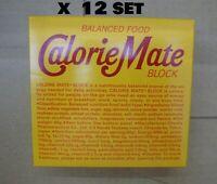 12 set x Calorie Mate Block Chocolate Flavor energy bar Otsuka Japan