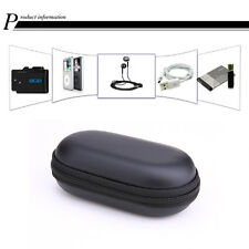 Headset Keys Protect Carry Hard Case Bag Storage Box Headphone Earphone Black