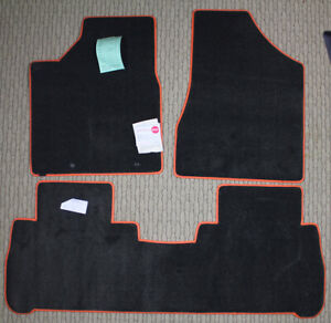 Grey Lloyd Ultimat 3pc Carpet Floor Mat Set Fits 2003-2007 Nissan Murano