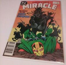 1989 Mister Miracle (May) [Issue #4] 8.5 grade (DC) comic book + new bag / board
