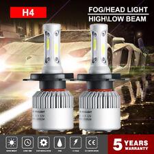 2Pcs H4 9003 1950W 292500LM LED Conversion Headlight KIT Hi/Low Beam 6000K White