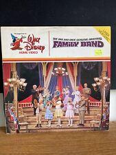 Family Band Laserdisc Disney