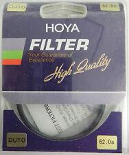 PRL) HOYA FILTRO FILTRE FILTER FILTAR FILTRU 62 mm DIFFUSEUR DUTO DIFFUSER NIB