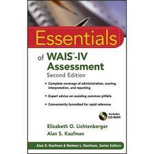 Essentials of WAIS-IV Assessment (Essentials of Psychological Assessment), Kaufm